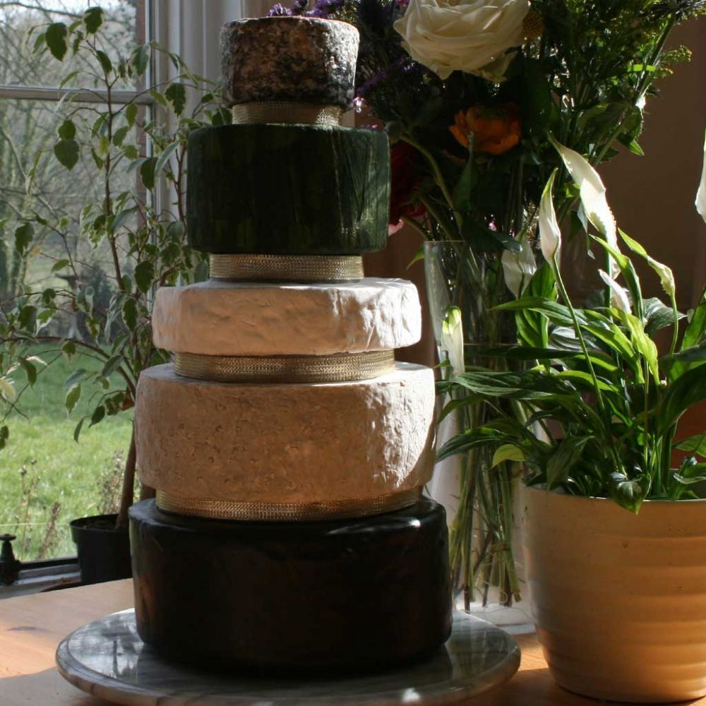 Lily Wedding Cheese Cake, 7.4kg  Cheese tower